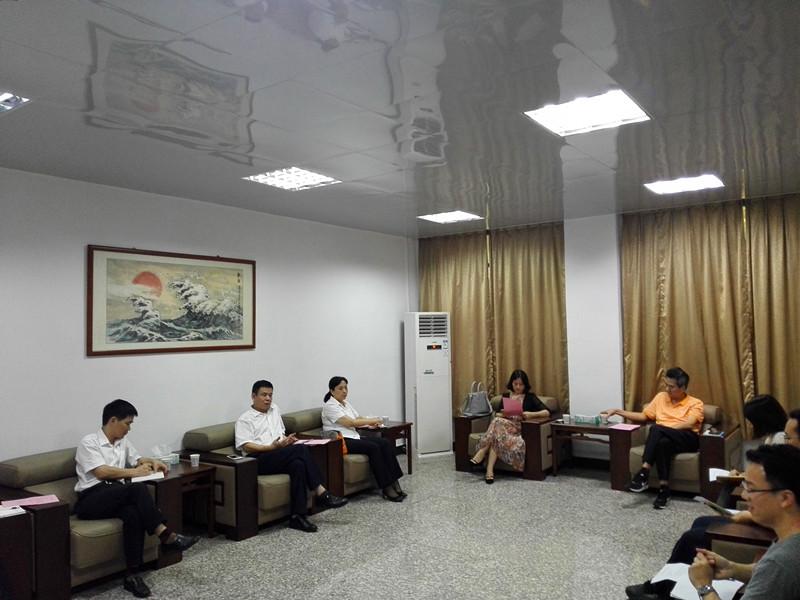 工商银行惠州市分行各级领导莅临我校调研