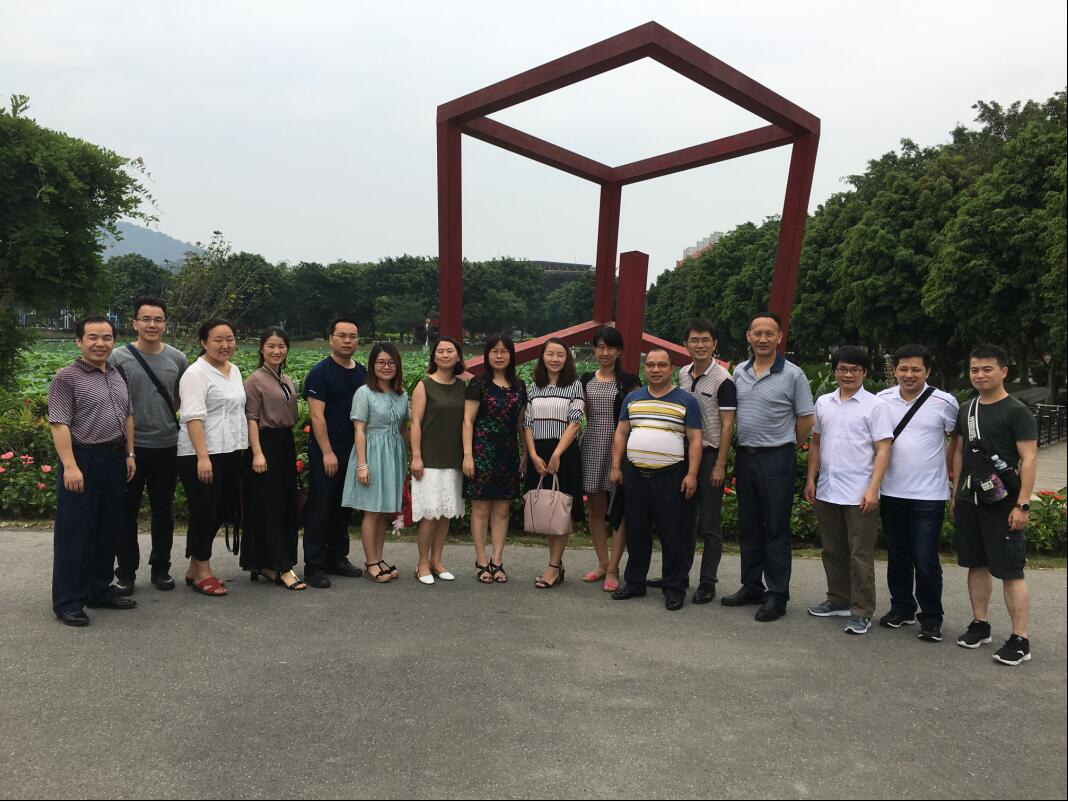 我校组织团队赴广州工程技术职业学院考察
