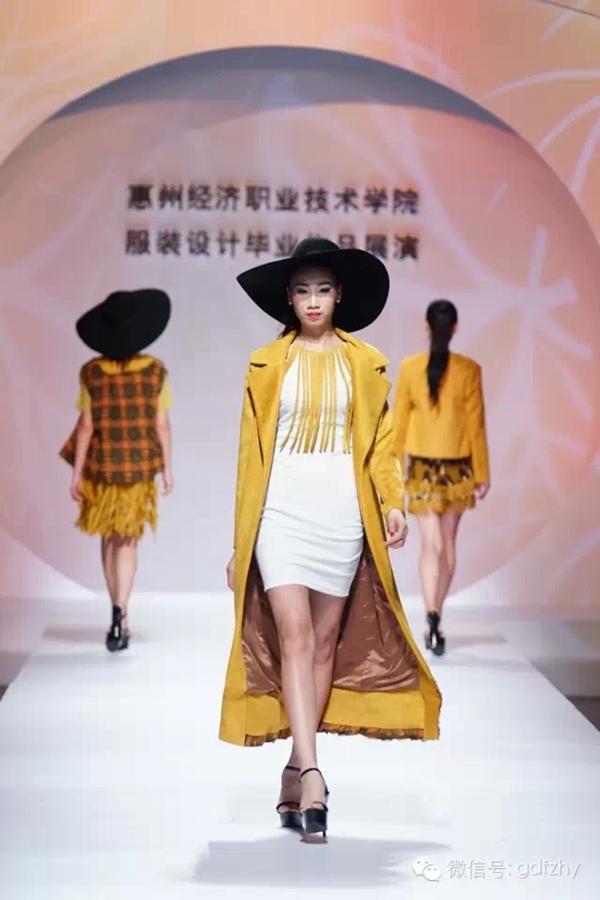 我院服装设计毕业作品在广州国际轻纺城精彩展演