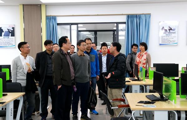 广东技术师范大学管理学院李江涛院长一行来访我校
