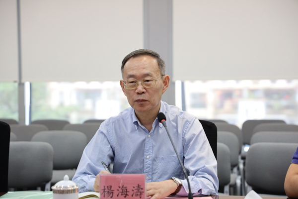 杨海涛校长率队走访旭日集团(中国)总部