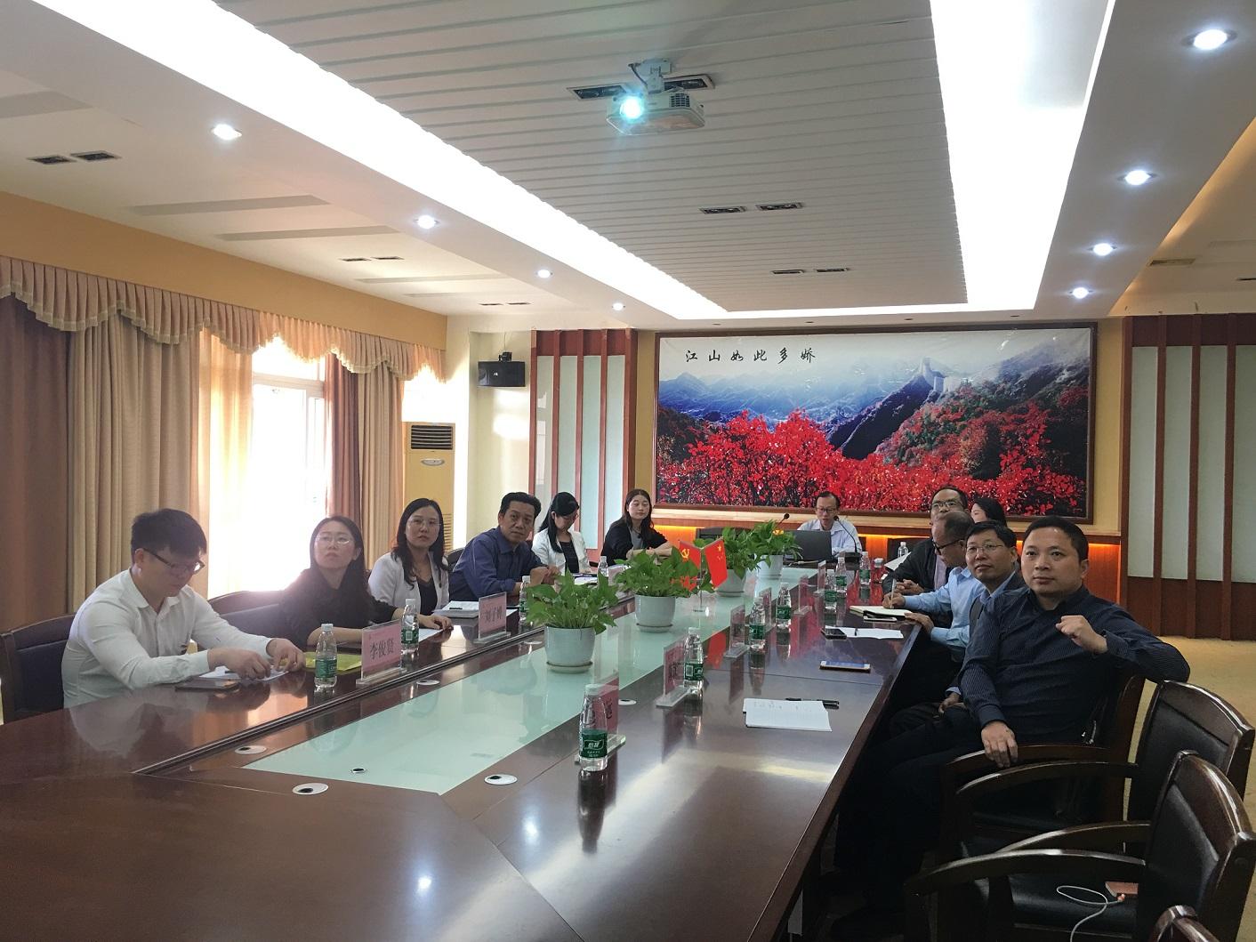 王宏道院长率队赴广州城建职业学院参观学习